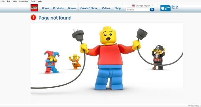 Lego gremlin pulling the plug
