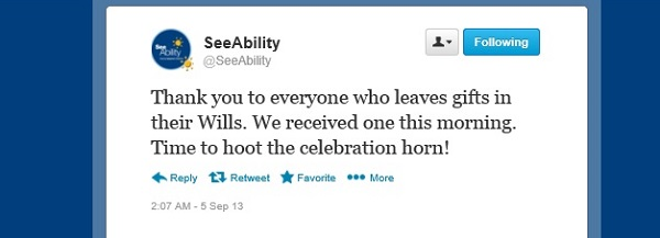 Legacy tweet