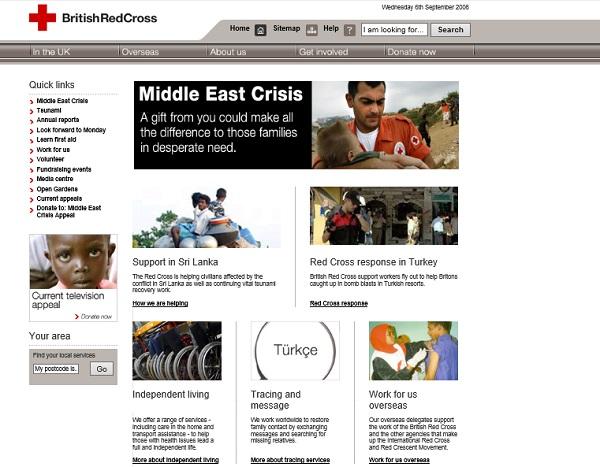 British Red Cross 2006