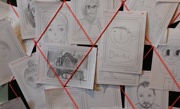 drawings of faces