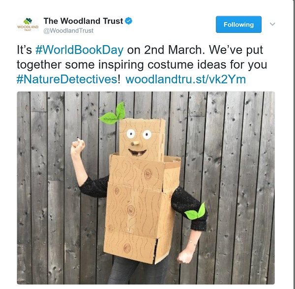 tweet with image of a cardboard Stick Man