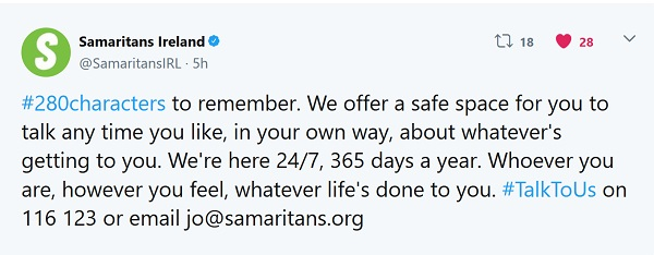 Samaritans Ireland