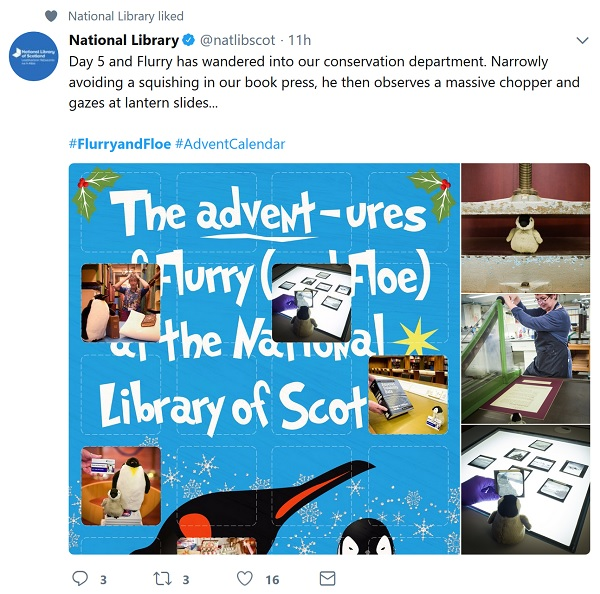 National Library of Scotland's penguin adventures