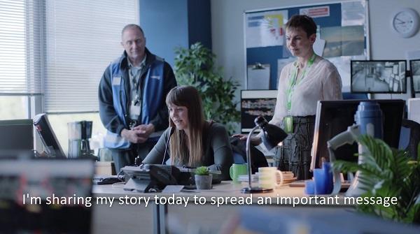 Still from Samaritans video