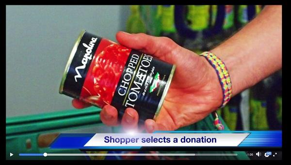 Still from Foodbank video