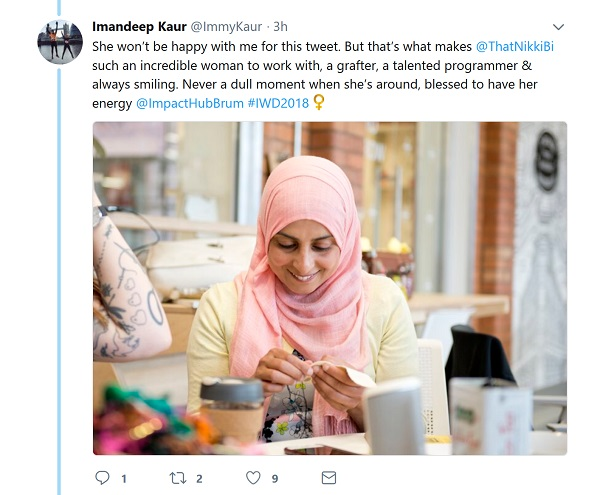 One of the tweets from Imandeep Kaur's thread.