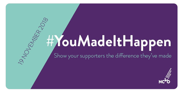 NCVO's #YouMadeItHappen graphic
