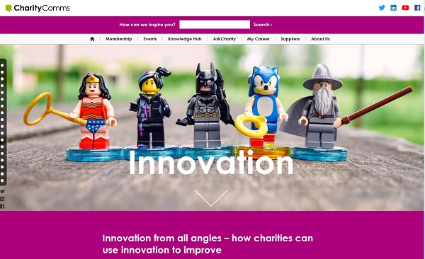Charity Comms' Innovation report