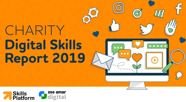 Logo for the Charity Digital Skills Report 2019