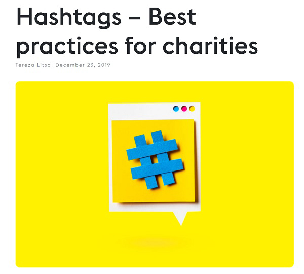 screenshot from Lightful's article about hashtags